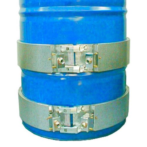Abrazadera Calefactora metálica para bidón